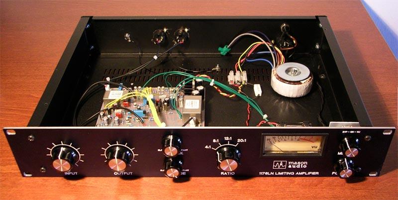 Building DIY 1176 Compressor