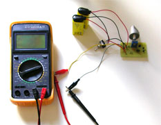FET matching multimeter